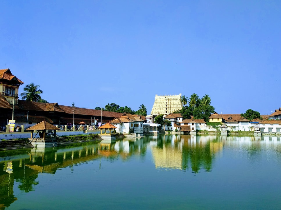 Sree Padmanabhaswamy Temple in Trivandrum