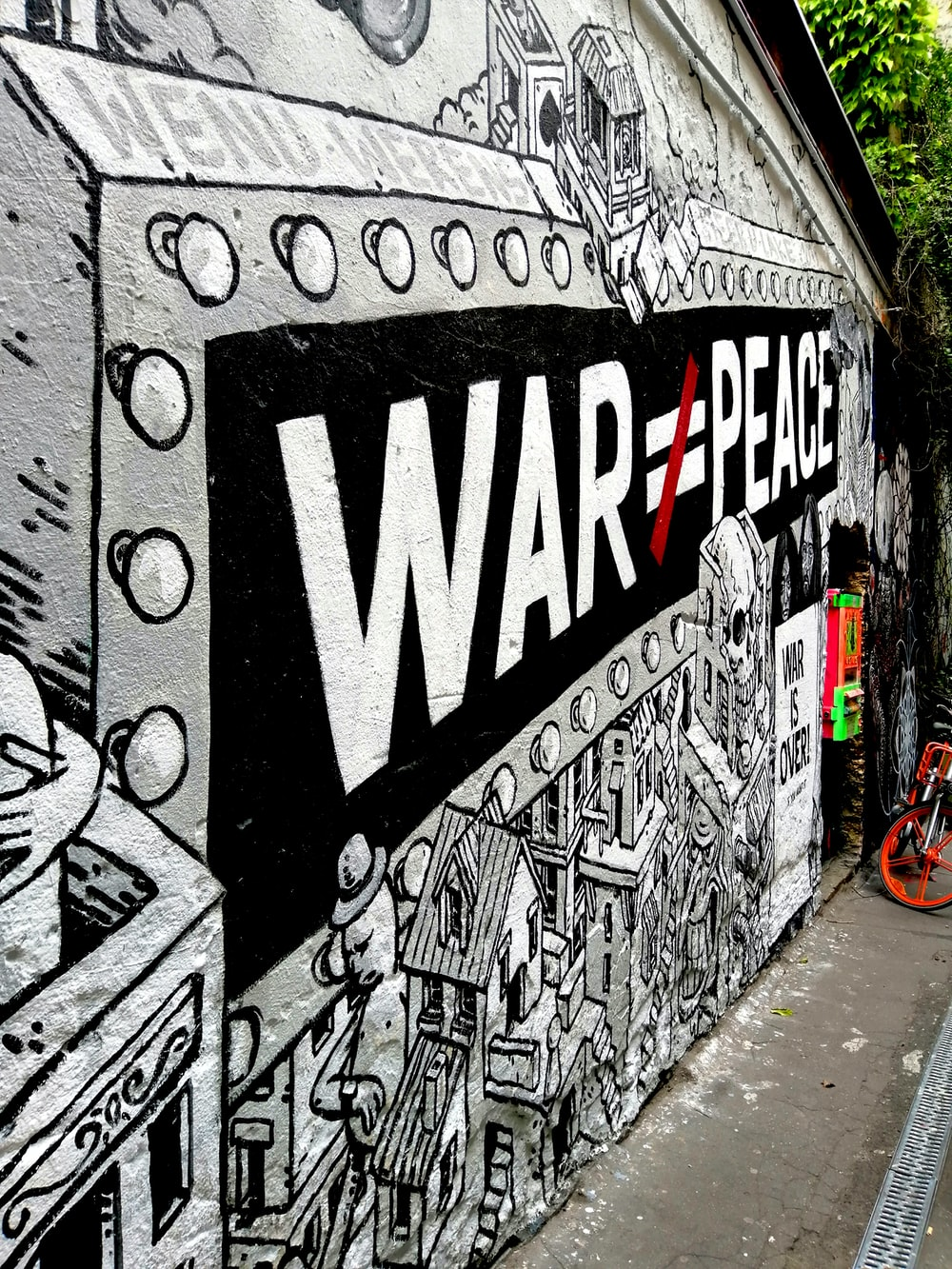 war is not equals to peace