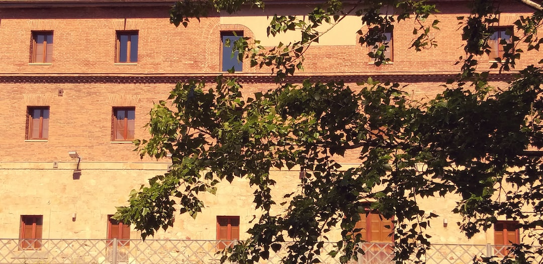 The old mill is nowadays the Casino of Salamanca. It is on the riverbank,  a place where people don't go often in Salamanca. The last Spring that part of the city was rich in colour and light. This picture reminds an old big house in the middle of the country, but it is almost in the city centre.