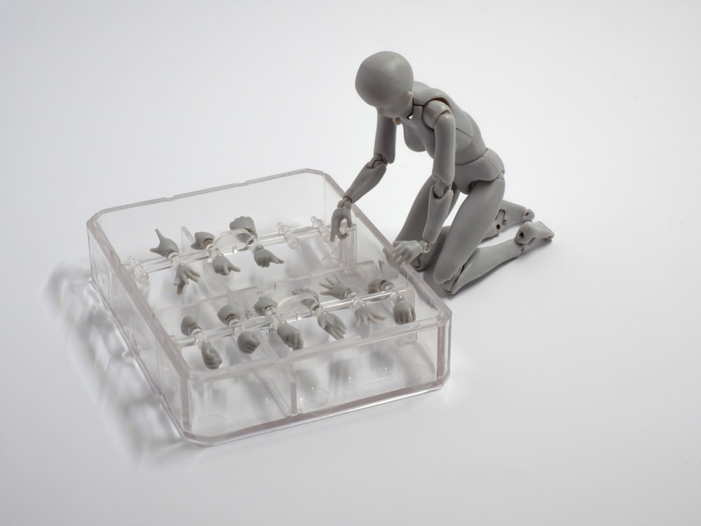 gray figure