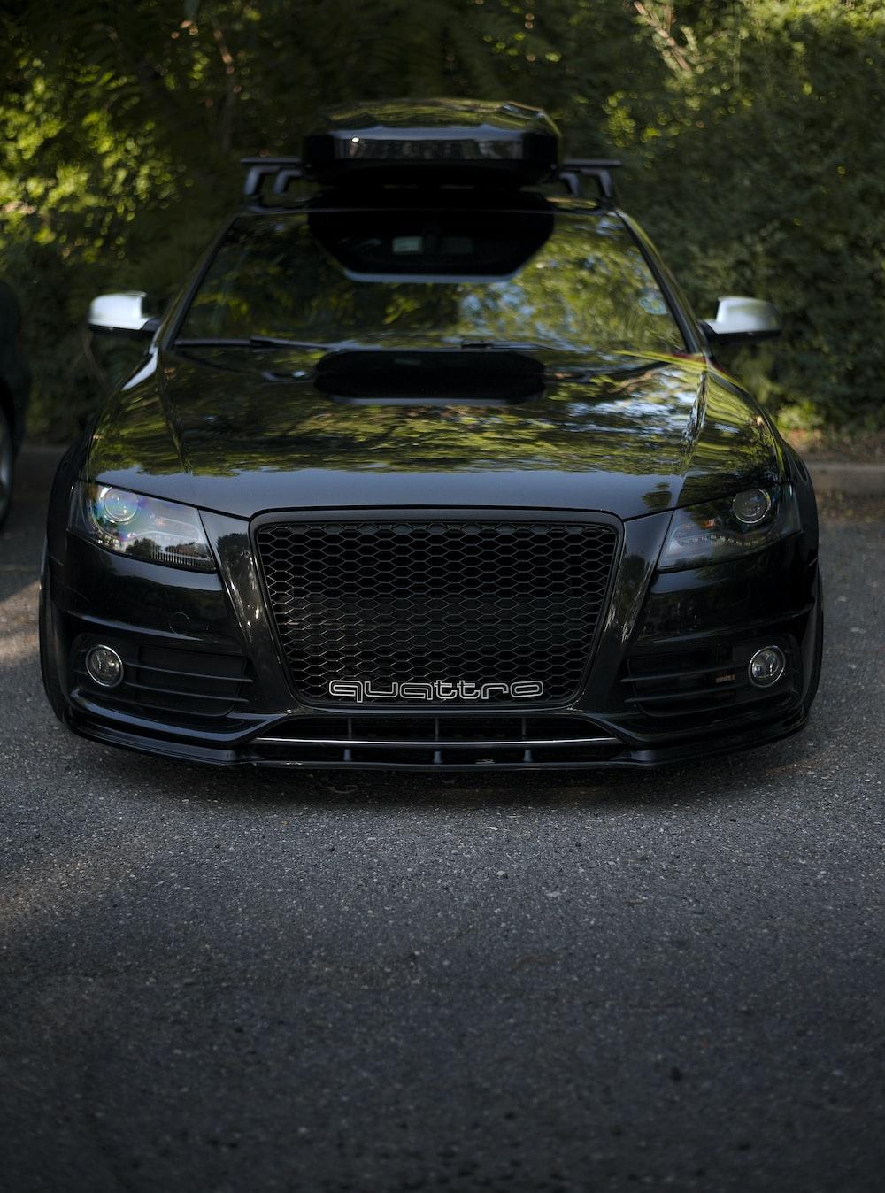 black Quattre car