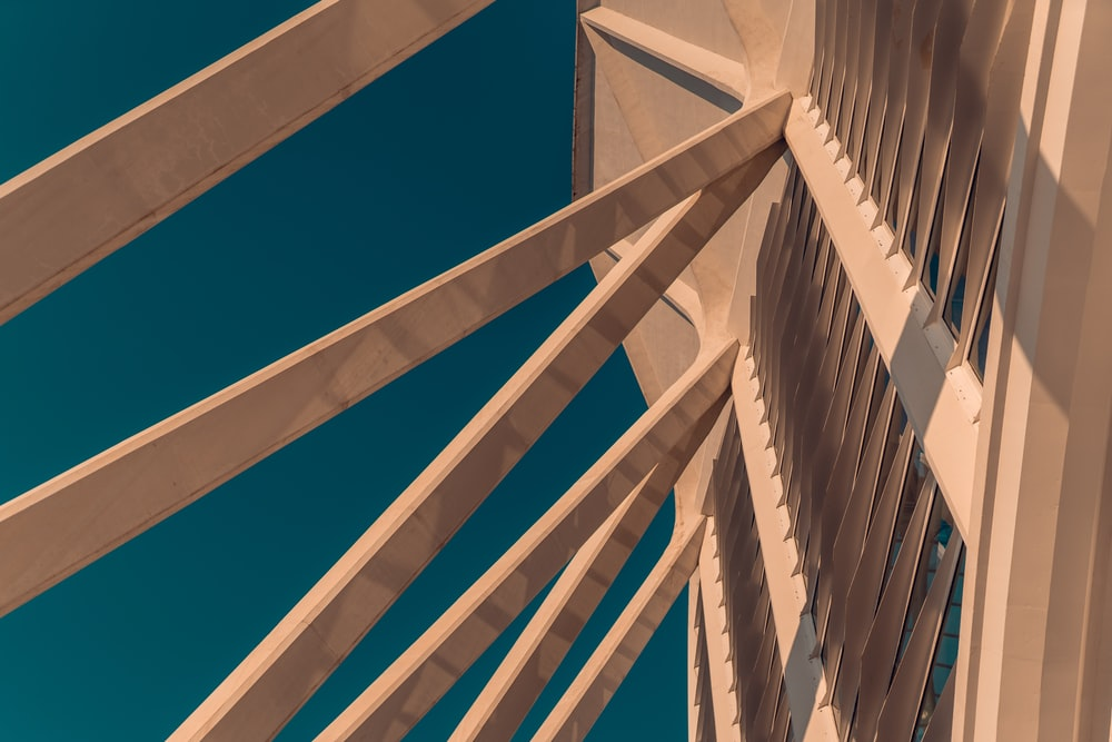 beige concrete structure