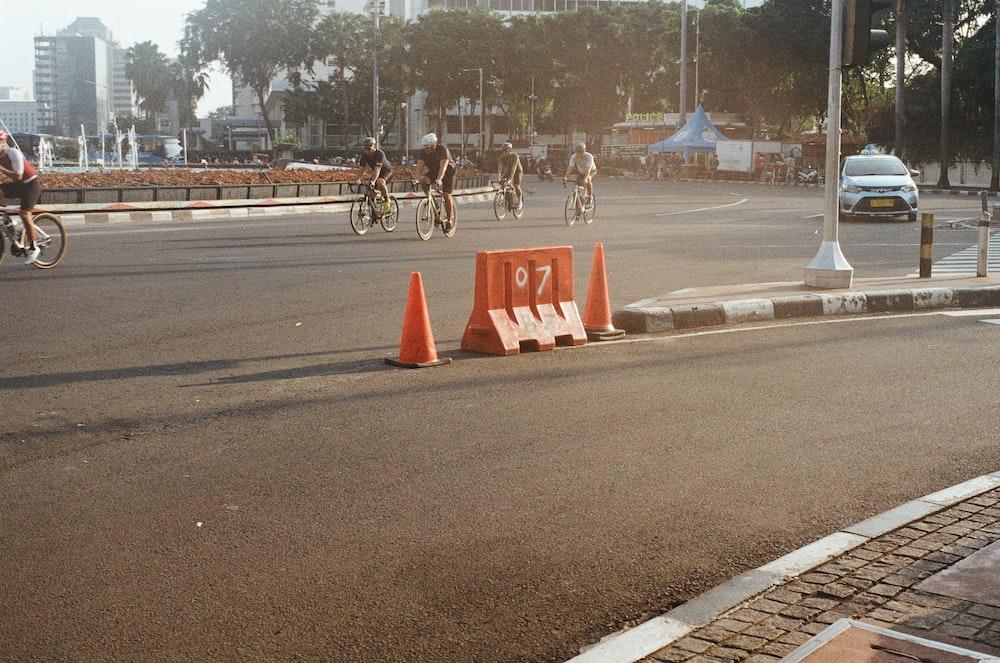 orange rod barrier