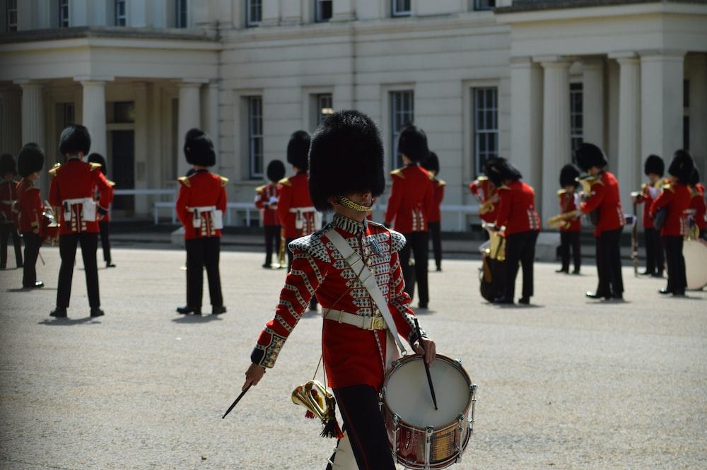 Royal Guard near structure