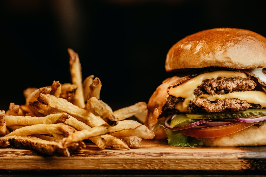 Fast food provider Hardee's has recently introduced the Monster Thickburger. It has 1,420 calories and 107 grams of fat.
