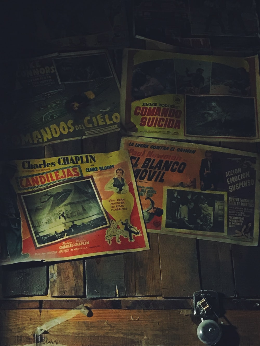 several assorted-title posters