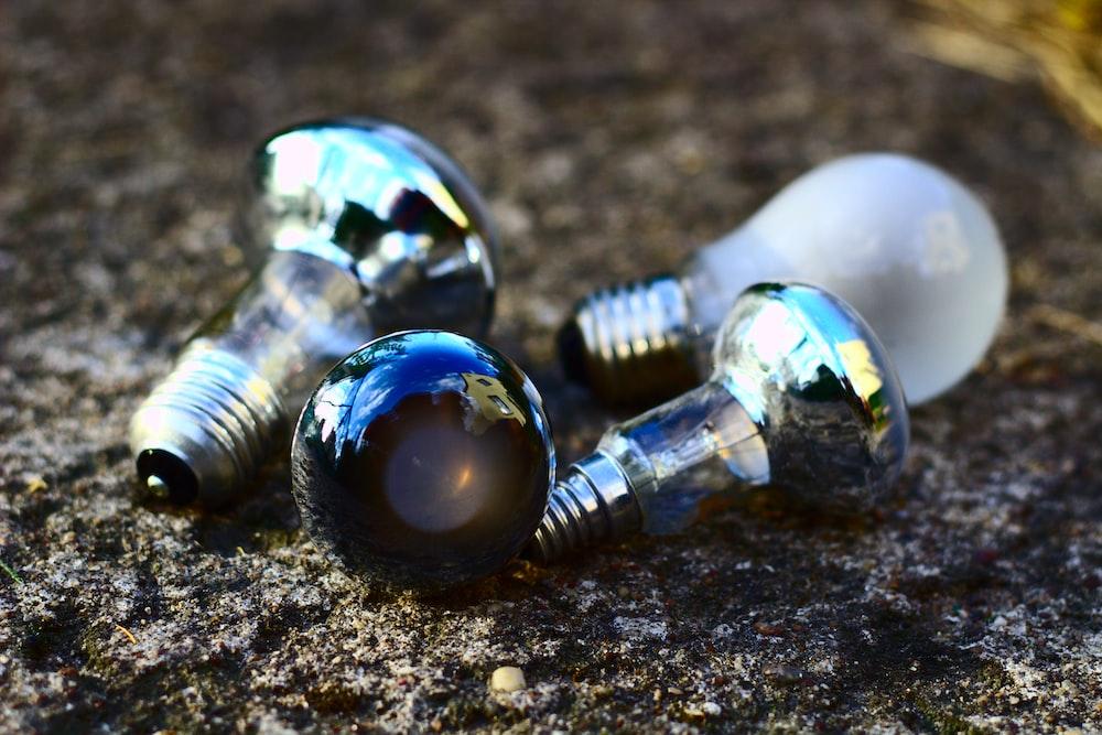 four light bulbs