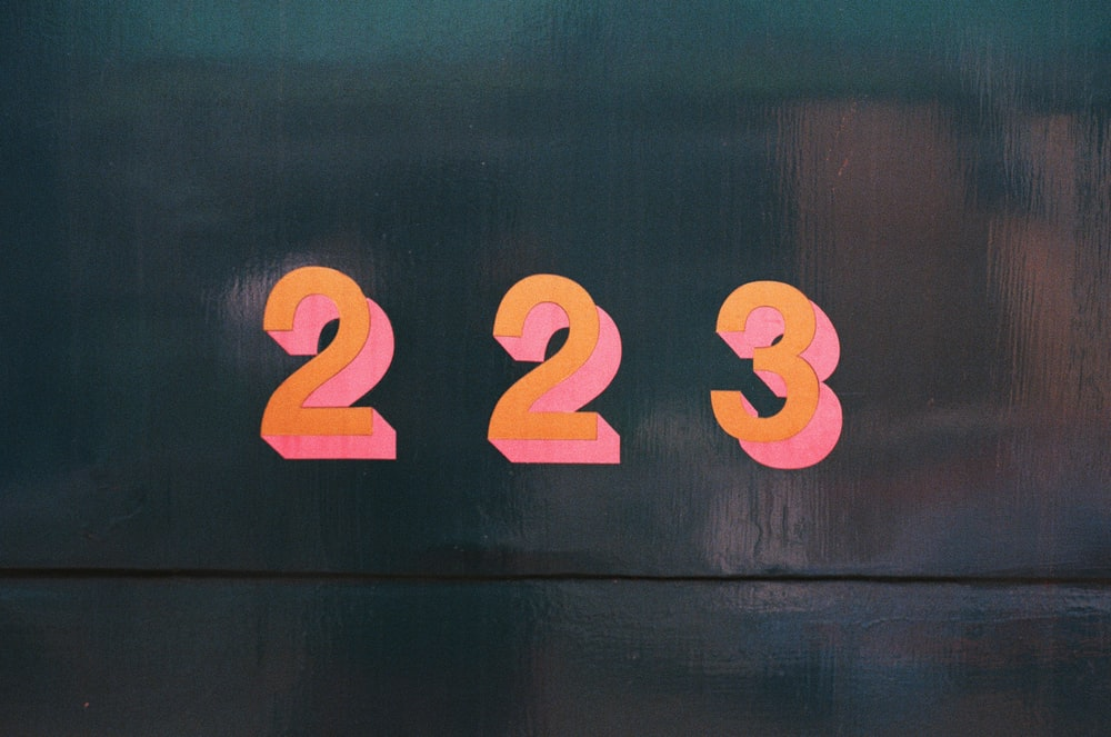 223 sign