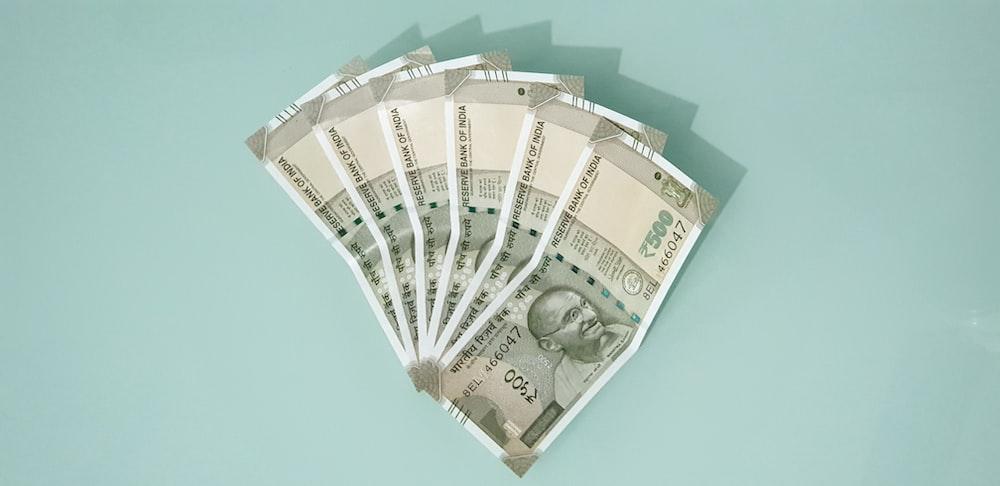 Indian rupee banknotes