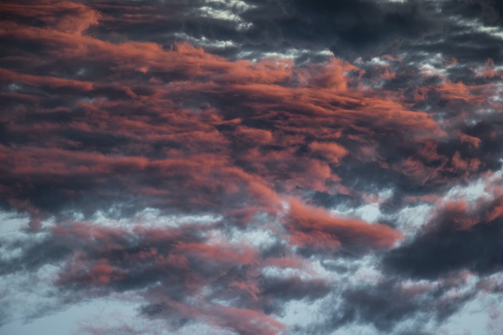 red and black clouds