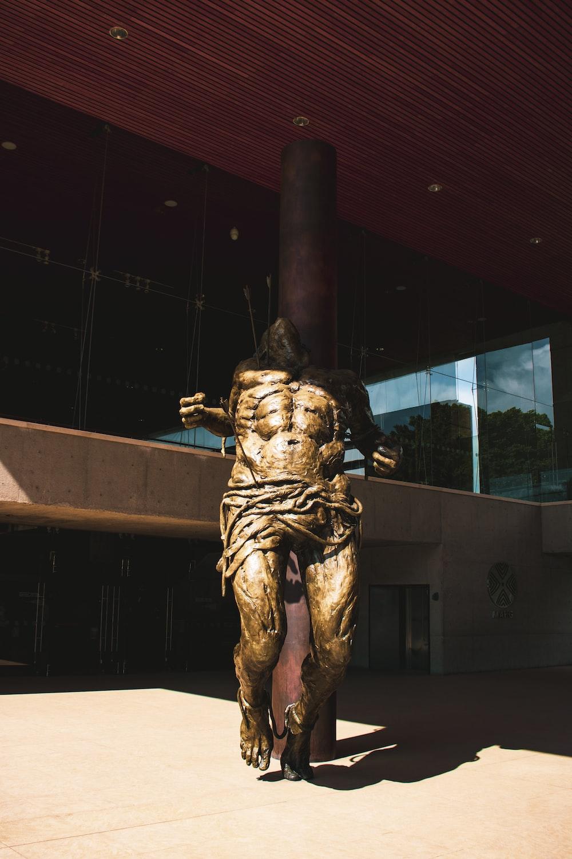 man themed statue