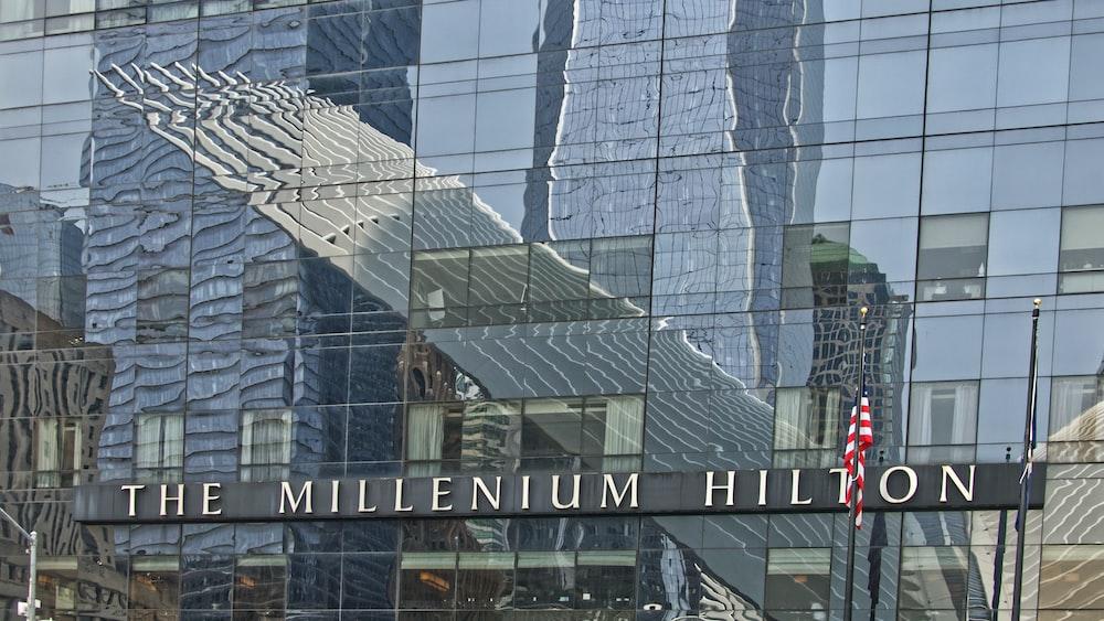 The Millenium Hilton building