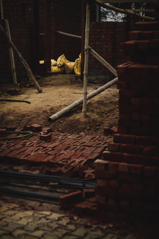 brown brick lot