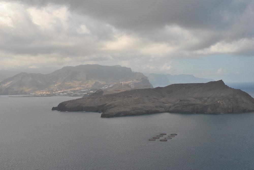 brown rock island