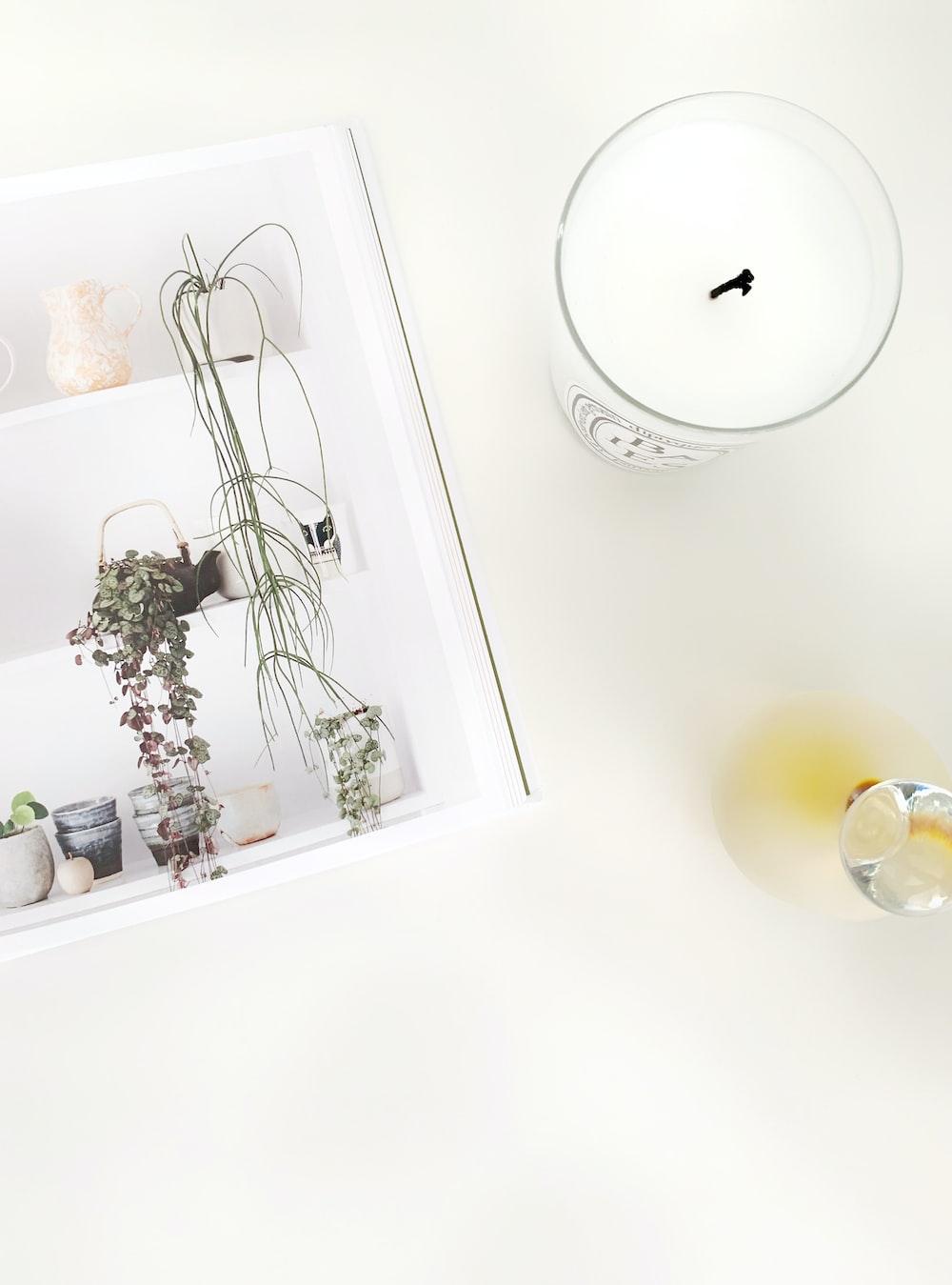 white yankee candle