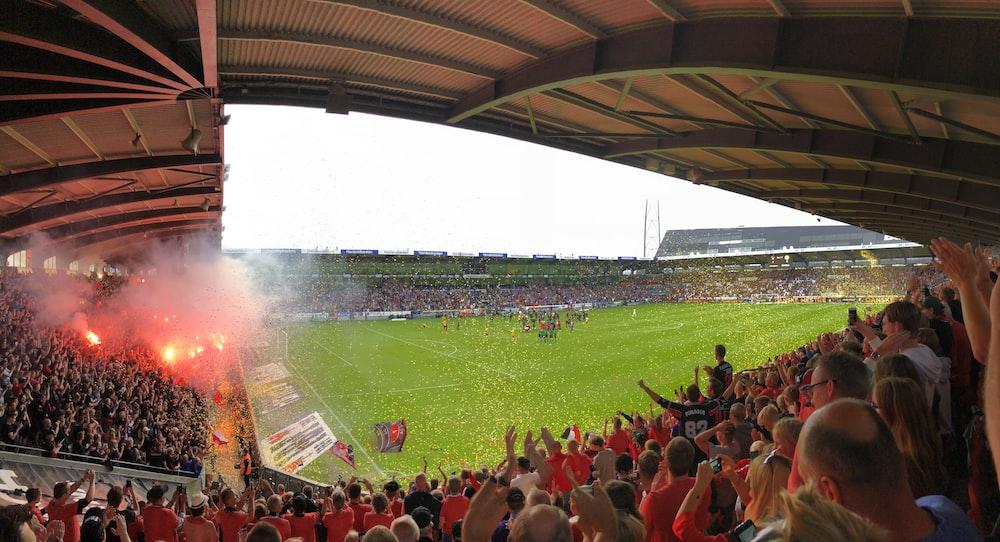 people onside stadium