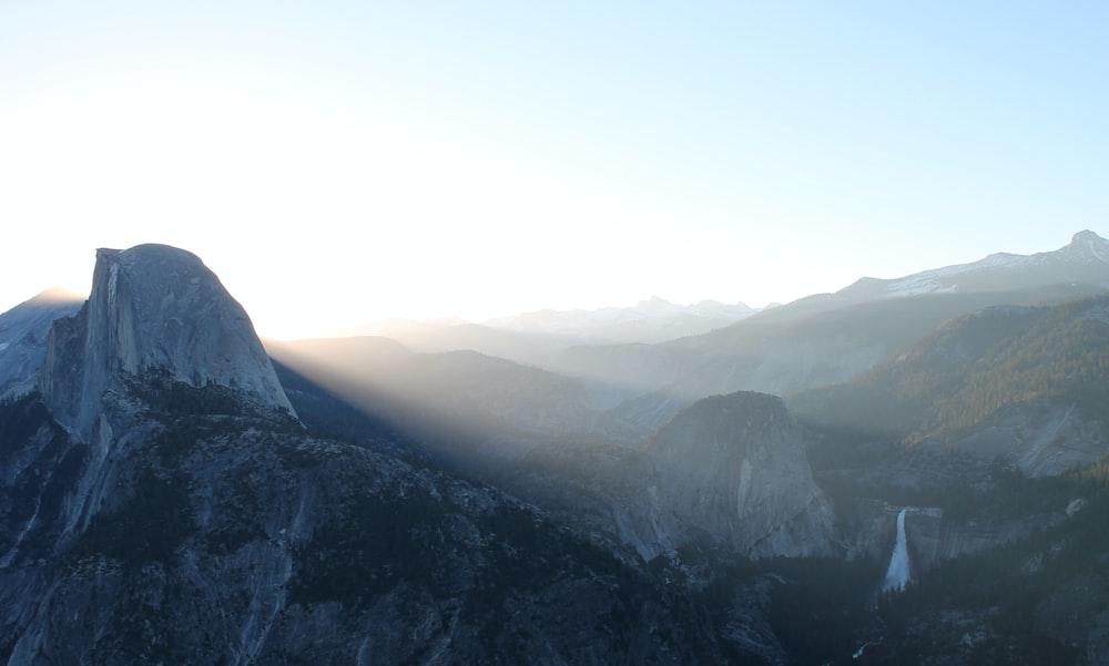 mountain view during daytime