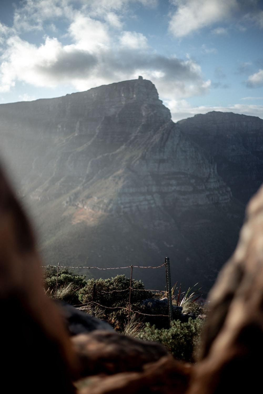 big mountains during daytime