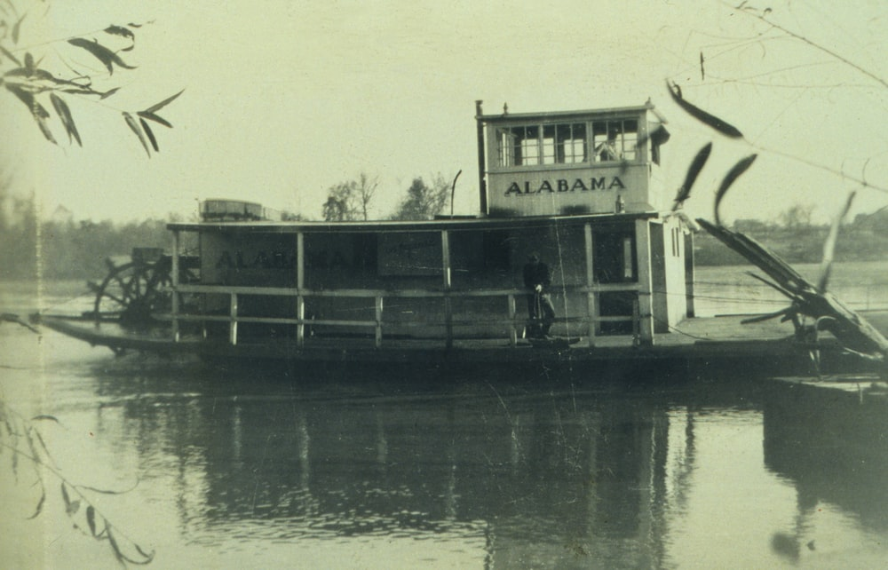 Tennessee River ferry boat