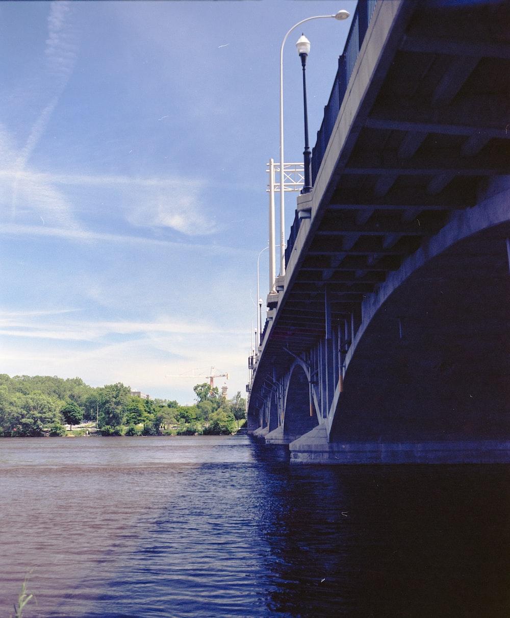 bridge above water