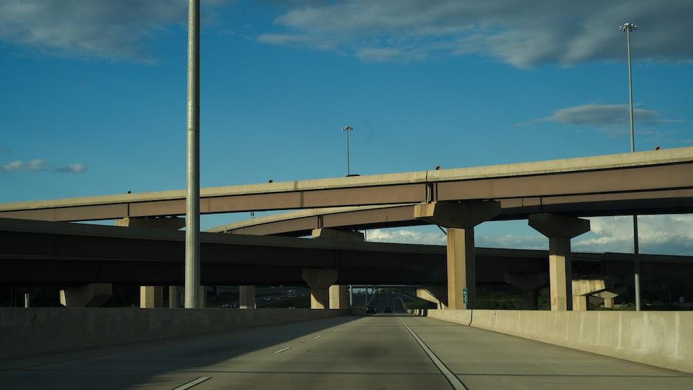gray concrete flyover