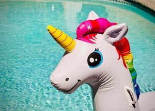 unicorn inflatable toy