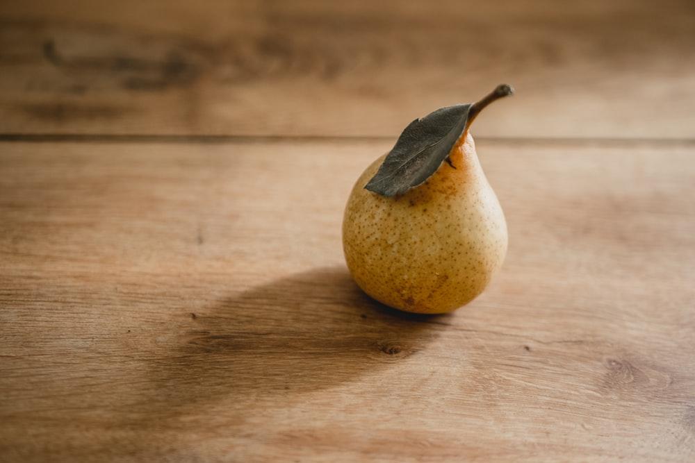 yellow pear fruit