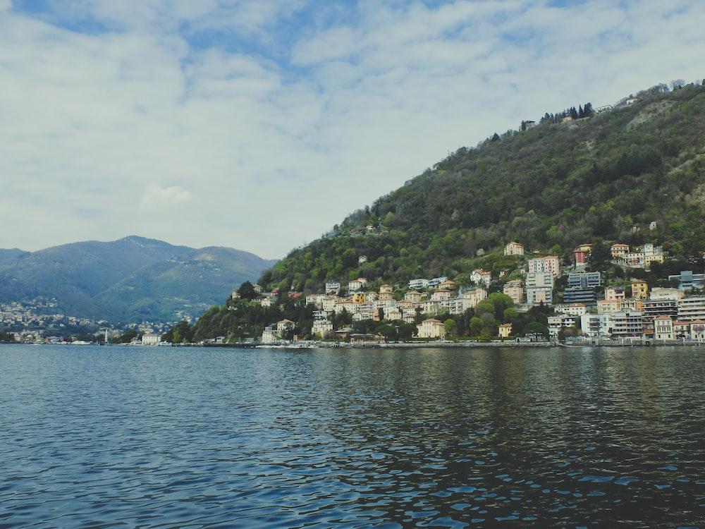 landscape photo of a seaside city