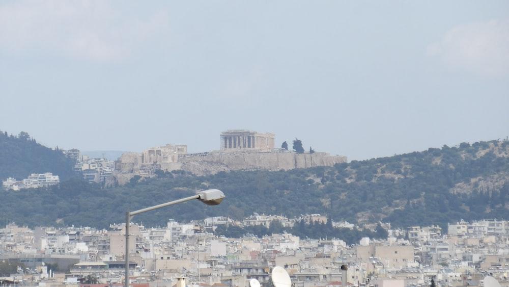 landscape photo of the Greek Parthenon