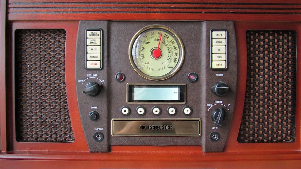 vintage bown CD recorder