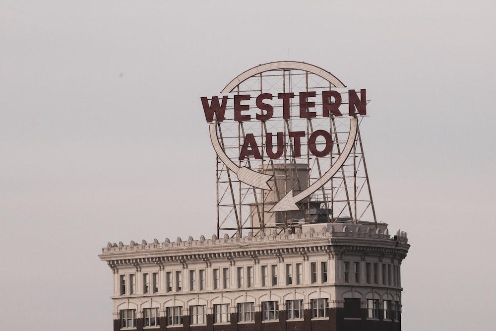 Western Auto signage