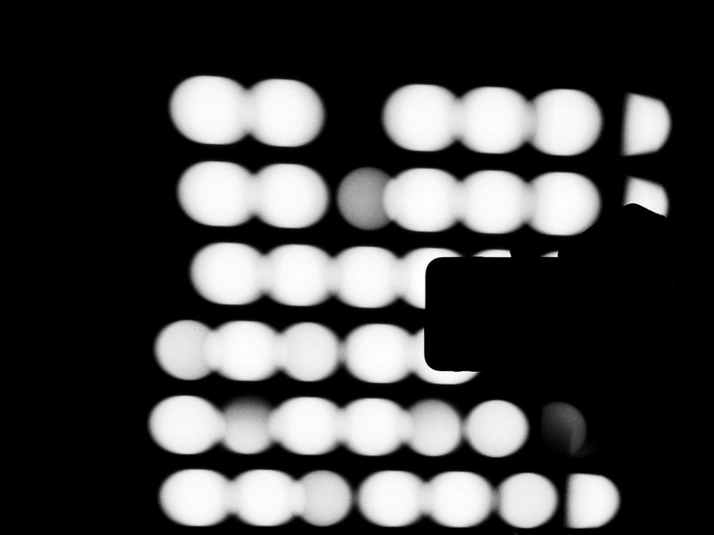 silhouette of smartphone