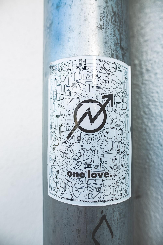 One Love signage