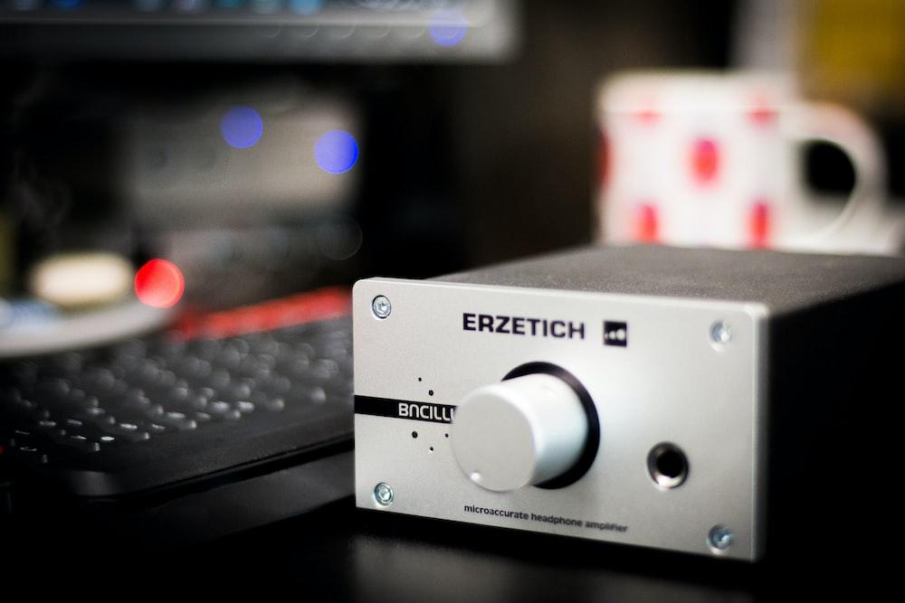 grey Erzetich headphone amplifier