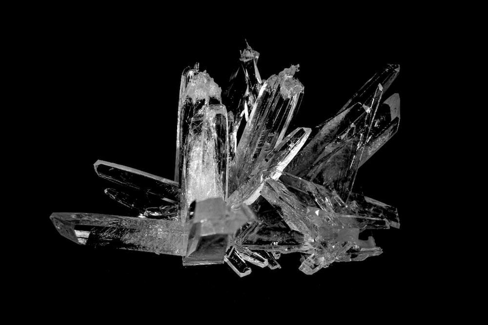 透明な結晶