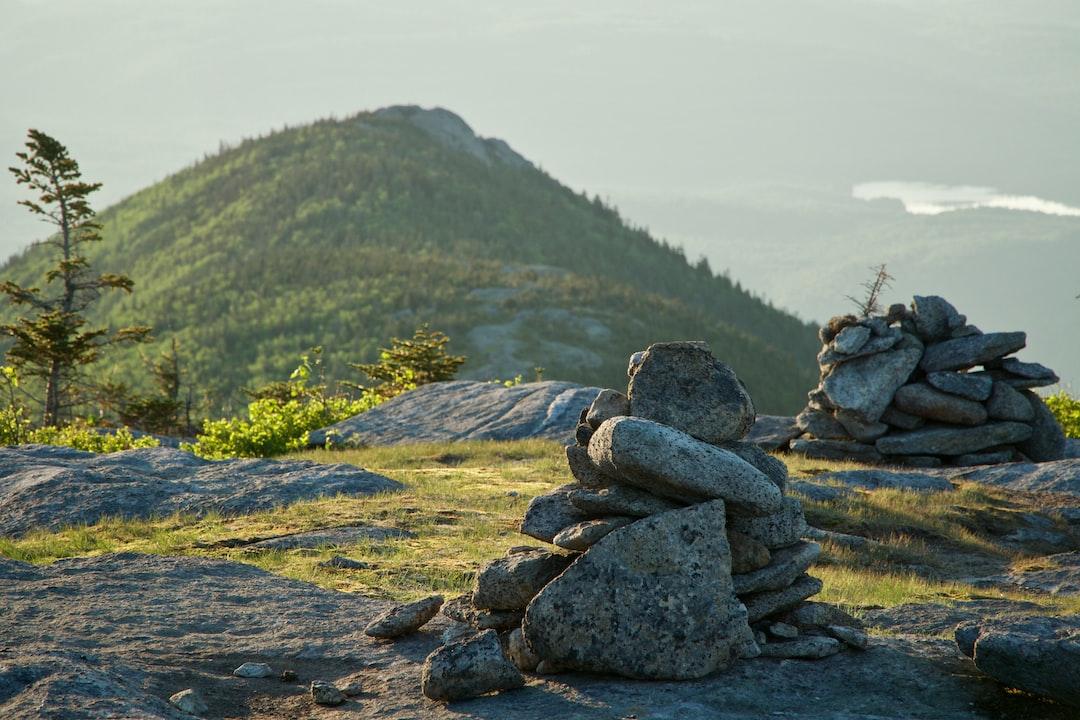 Summit of Rocky Peak Ridge looking East.