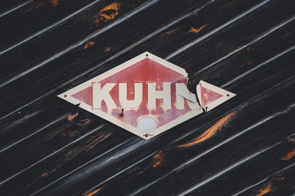 red Kuhn signage