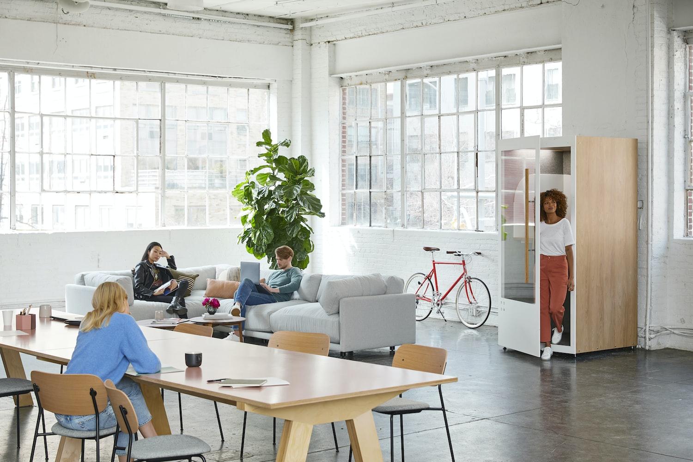 helles Nachhaltigkeit Büro