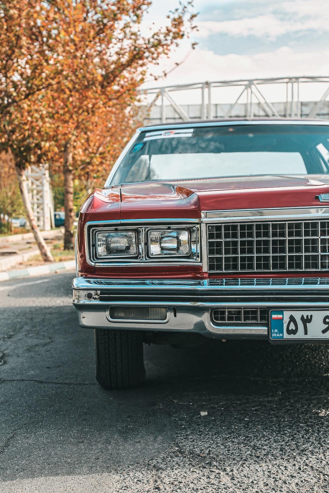 1976 Chevrolet Caprice classic in iran.