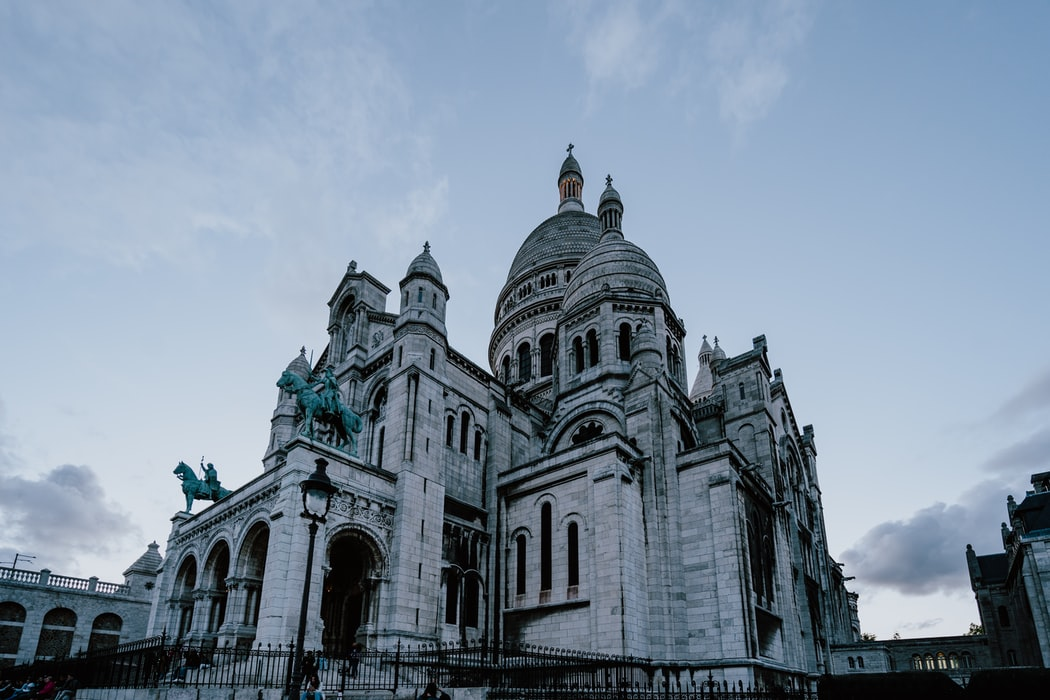 basilica of the sacred heart paris in October