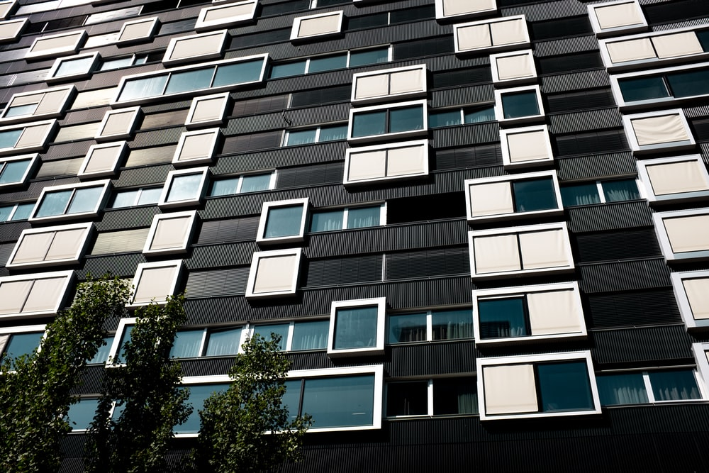 white and black high rise building facade