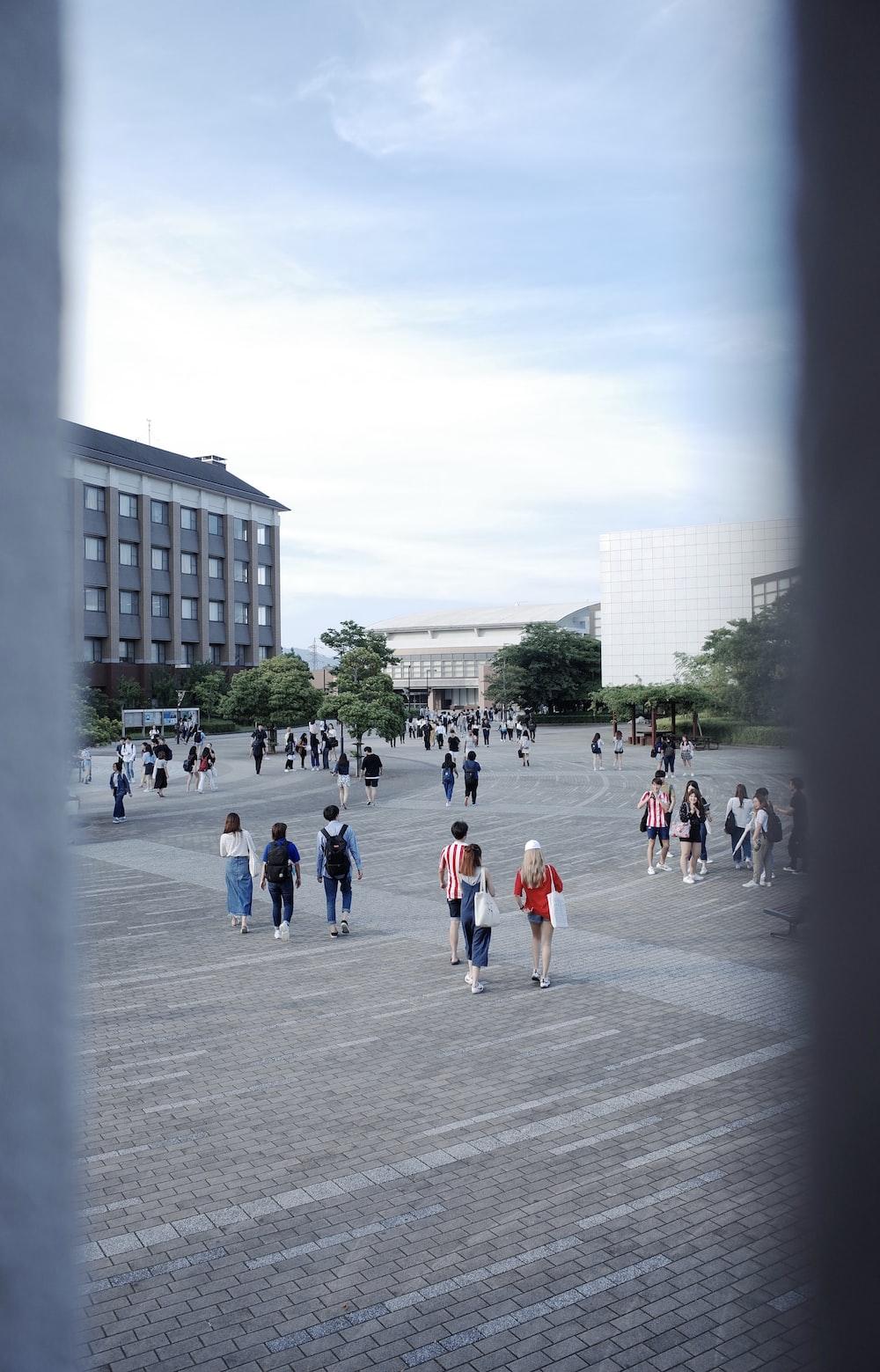 people walking on ground during daytime
