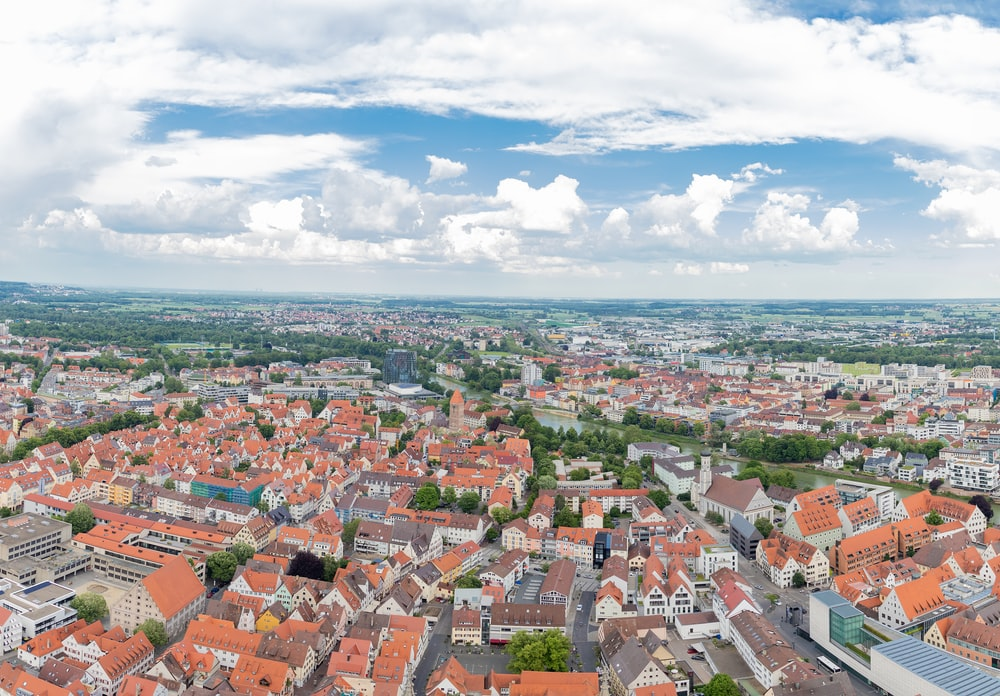 high-angle photography of city during daytime