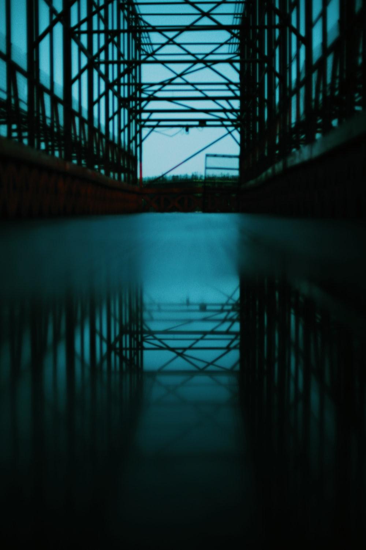 bridge with reflection