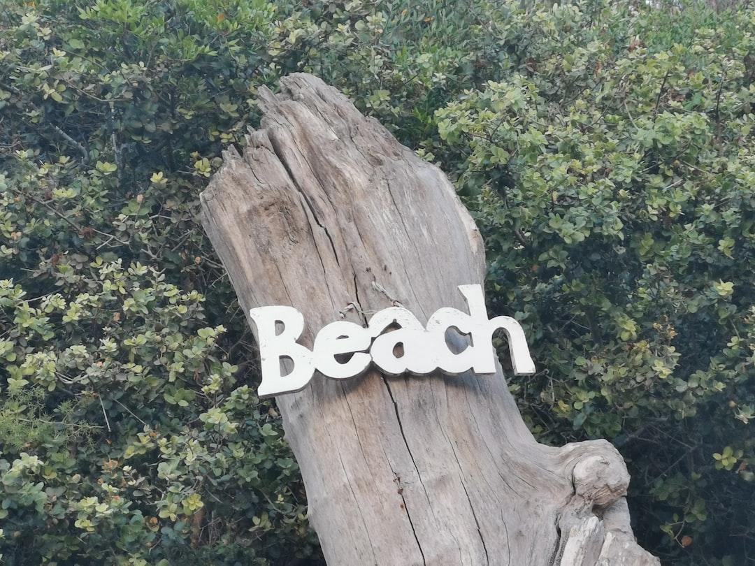 Voulitsa Beach Bar Sign