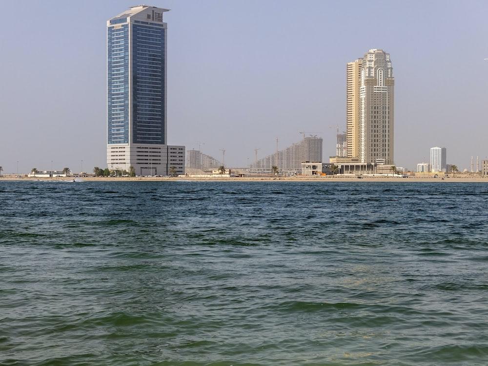 ocean and building scenery