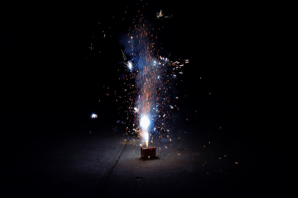 fireworks scenery