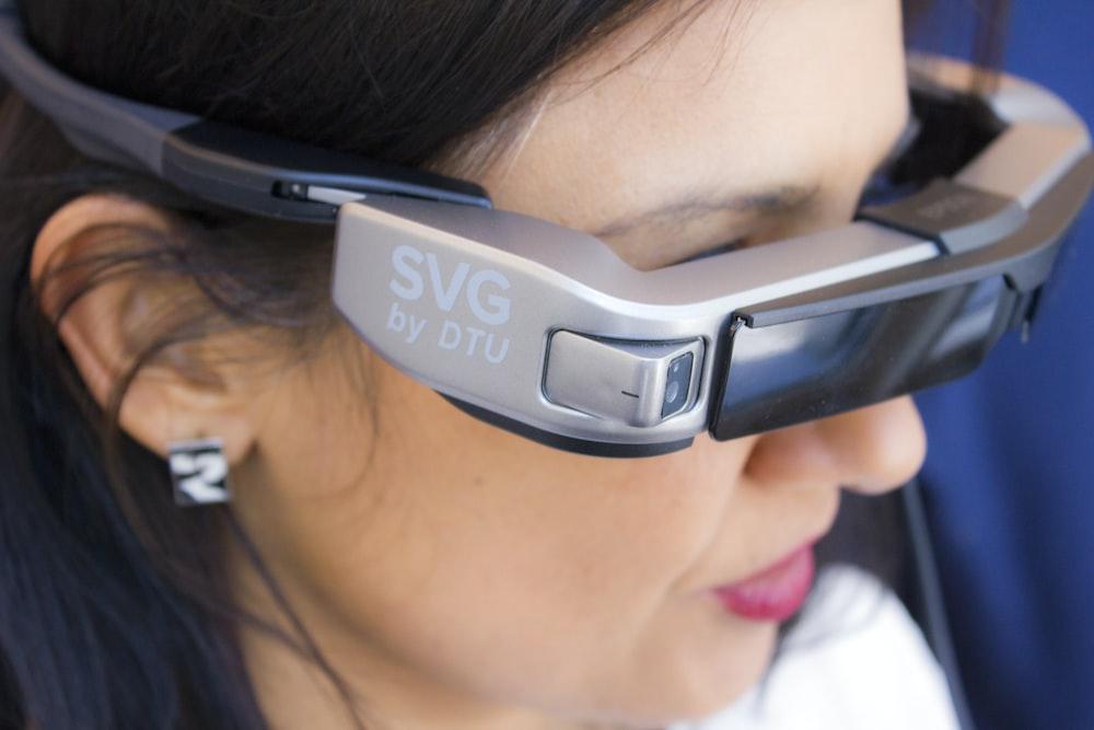 woman wearing SVG sunglasses