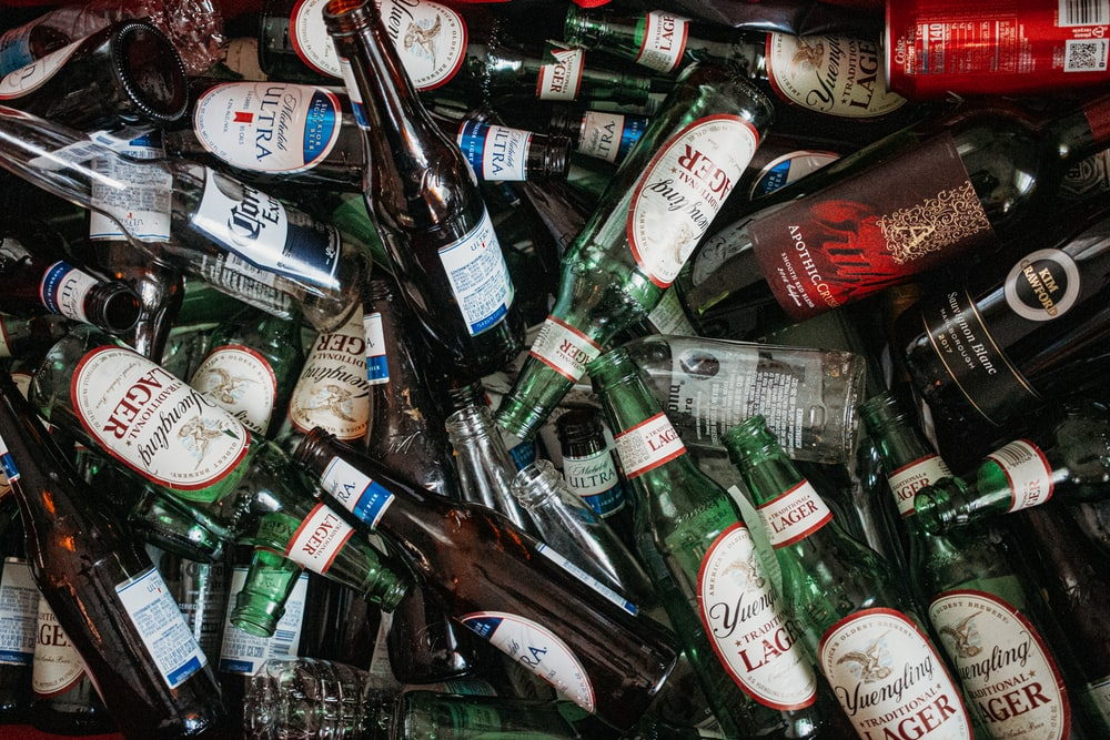 liquor bottle lot