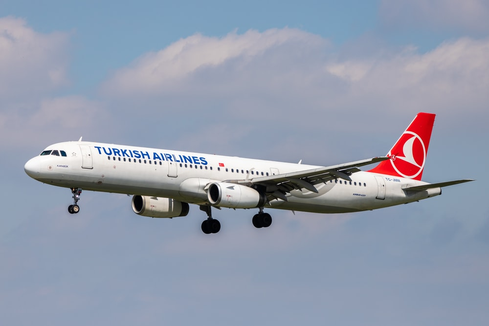 turkish airlines in flight